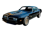 76-78 BLACK SPECIAL EDITION TRANS AM DECALS KIT (GERMAN STYLE)